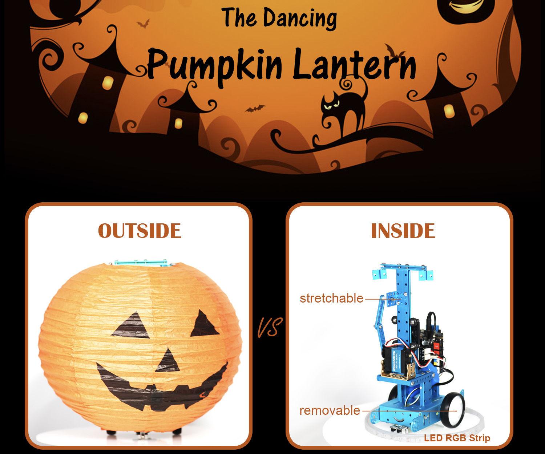 The Dancing Pumpkin Lantern