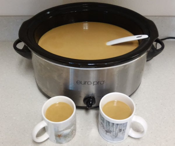 Pumpkin Coffee in a Crock Pot