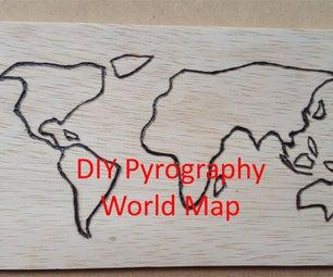 Wood Burning Map
