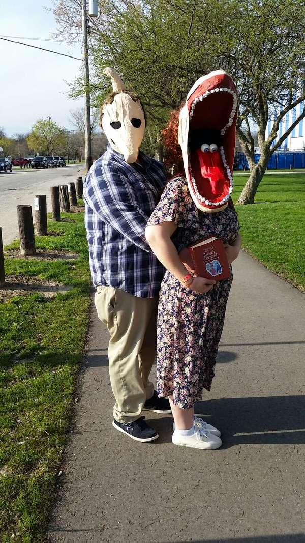 Adam and Barbara Maitland of Beetlejuice Costume