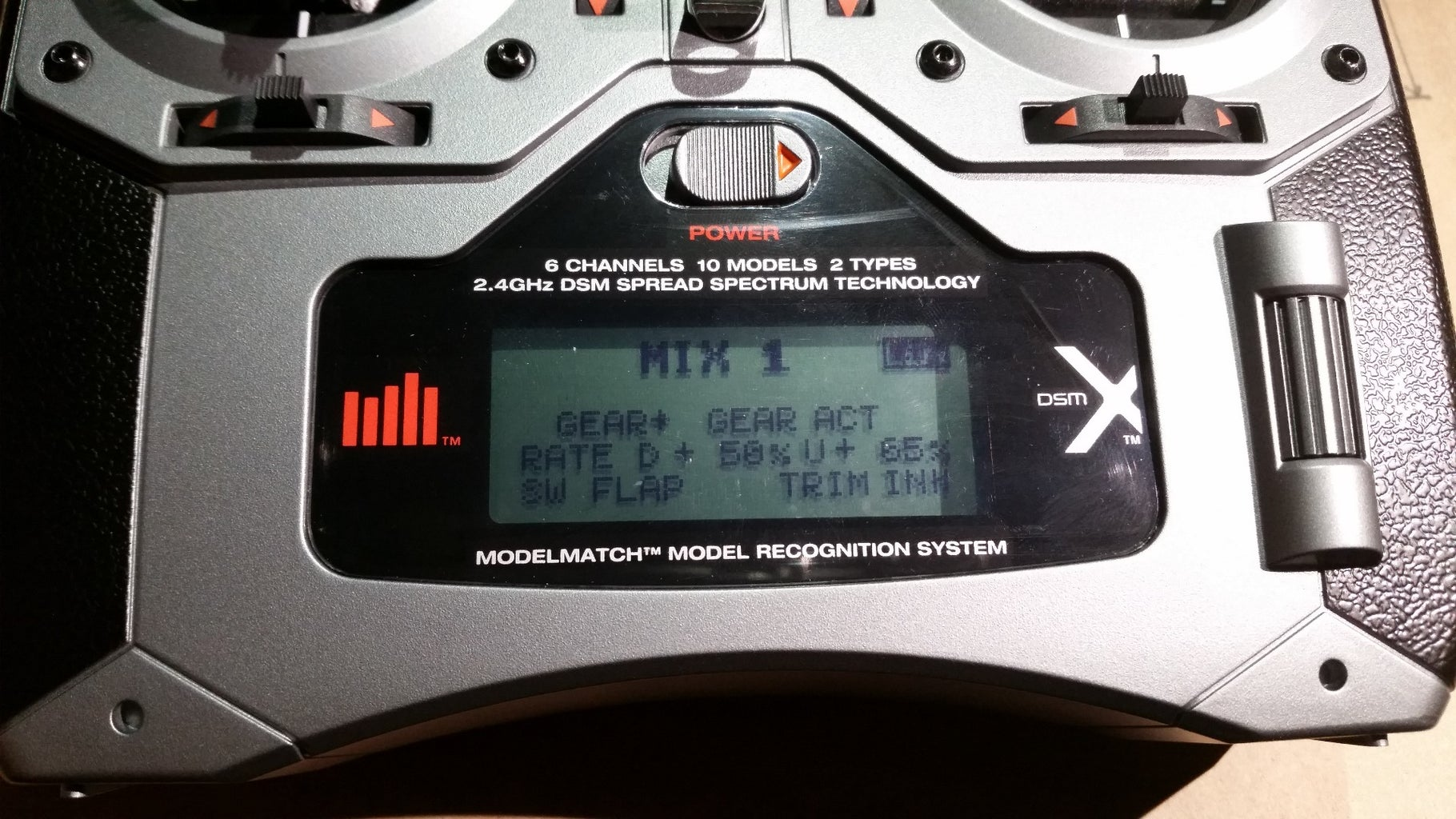 Calibrate the Flight Mode Switches