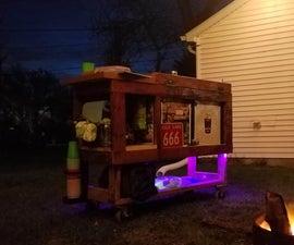 Building a Cooler Bar From Broken Kegerator