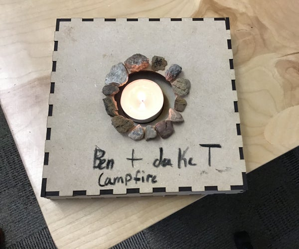 How to Make a Laser Cutted Campfire.