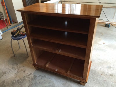 Dresser to Changing Table Conversion