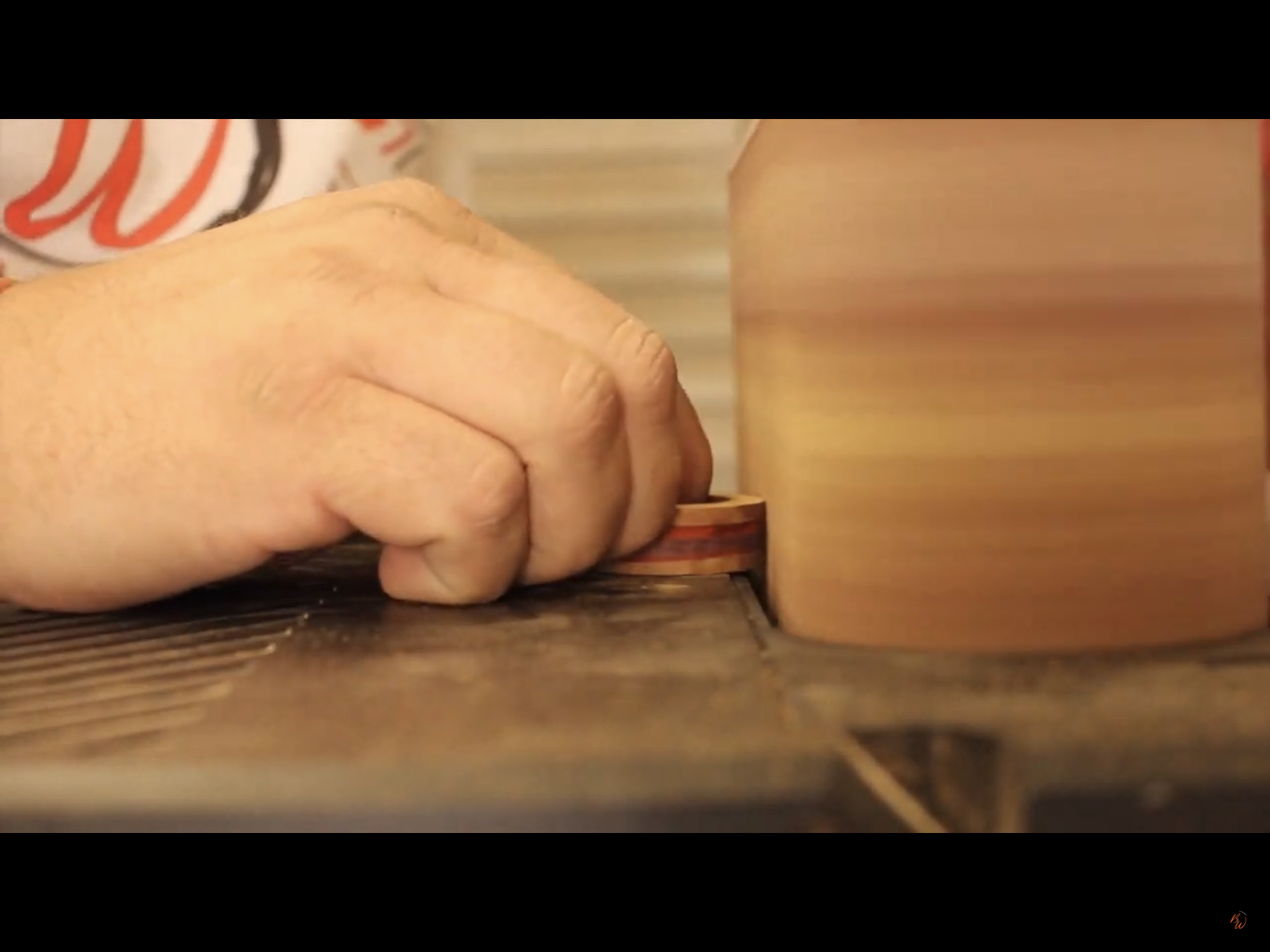Cutting the Profile & Sanding the Outside