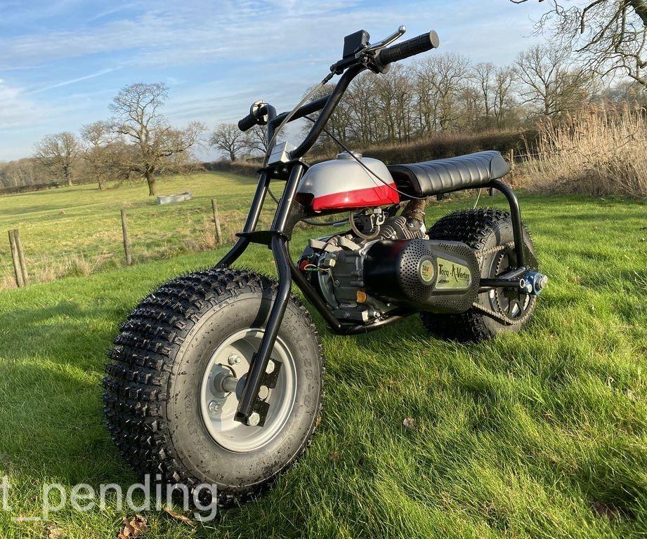 Ultimate 'Fat Boy' Mini-bike