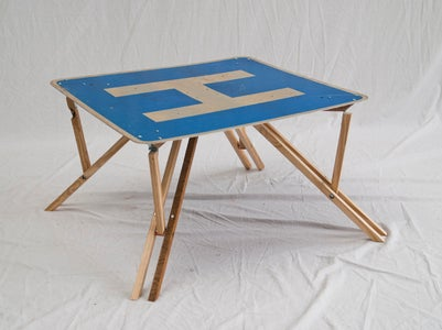 Folding Low Table