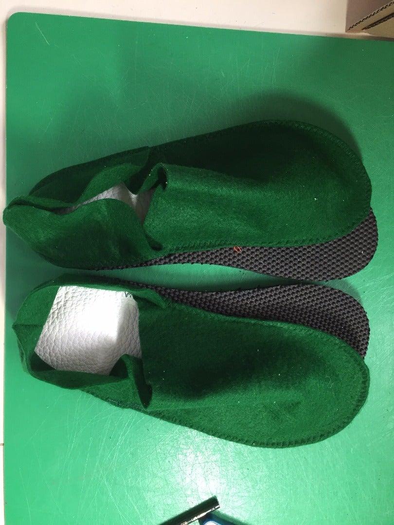 Step 16: Glue the Slippers