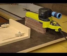 Homemade Belt Sander Table