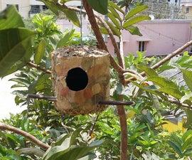Cardboard Birds Nest Box
