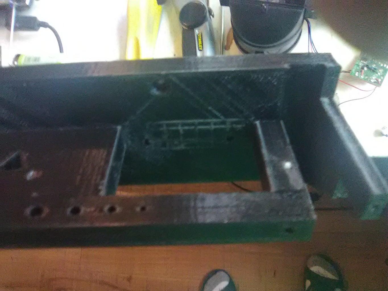 Method 1B Step 6: Attach Scraper Caddy