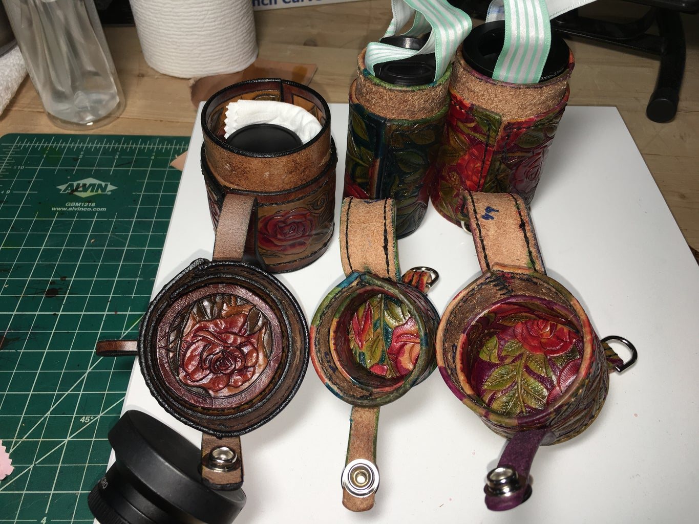 Leather Lens Cases