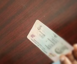 Sealed Copy of an ID