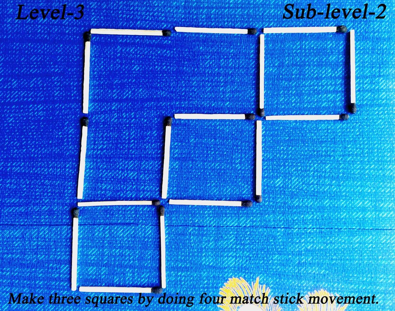 LEVEL  '3',   Sub-level  '2'