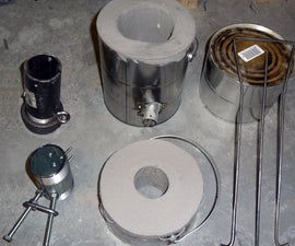 Paint Can Furnace With Accessories, Lost Foam Casting, and More!