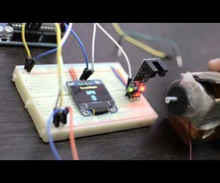 DIY Digital RPM Tachometer   RPM Counter With Arduino