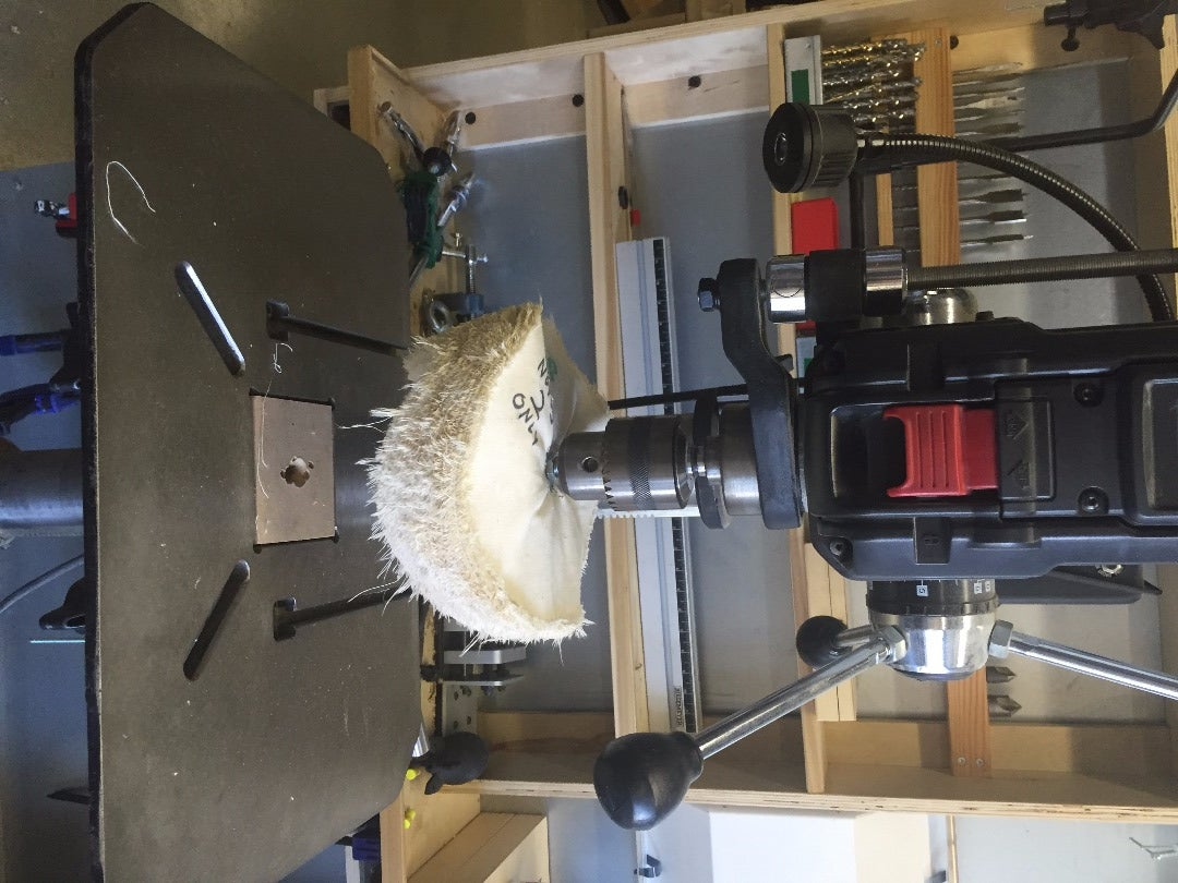 Buffing Wheels + Dremel Tool