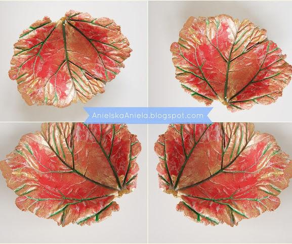 Diy Tutorial Leaf Bowl