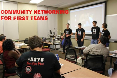 Community Networking for FIRST Teams