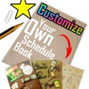 How To Customize Your Schedule Book