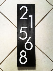 Prepare the Acrylic Numbers