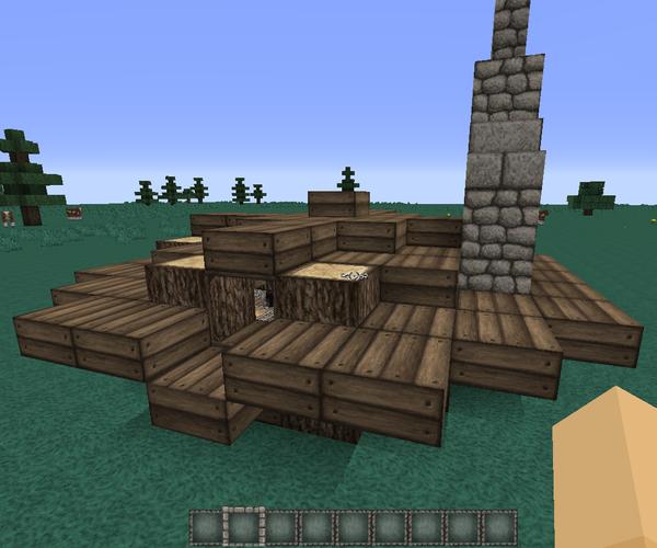 Medieval Minecraft Ground House