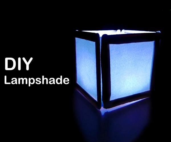 DIY - Lampshade Using Popsicle Sticks