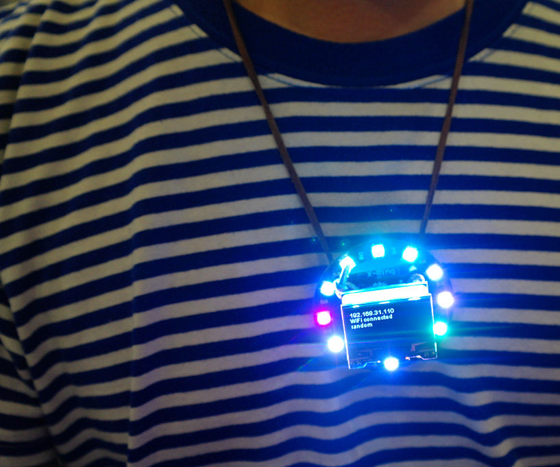 Make a WiFi Necklace