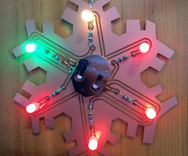 Blinky LED Snowflake