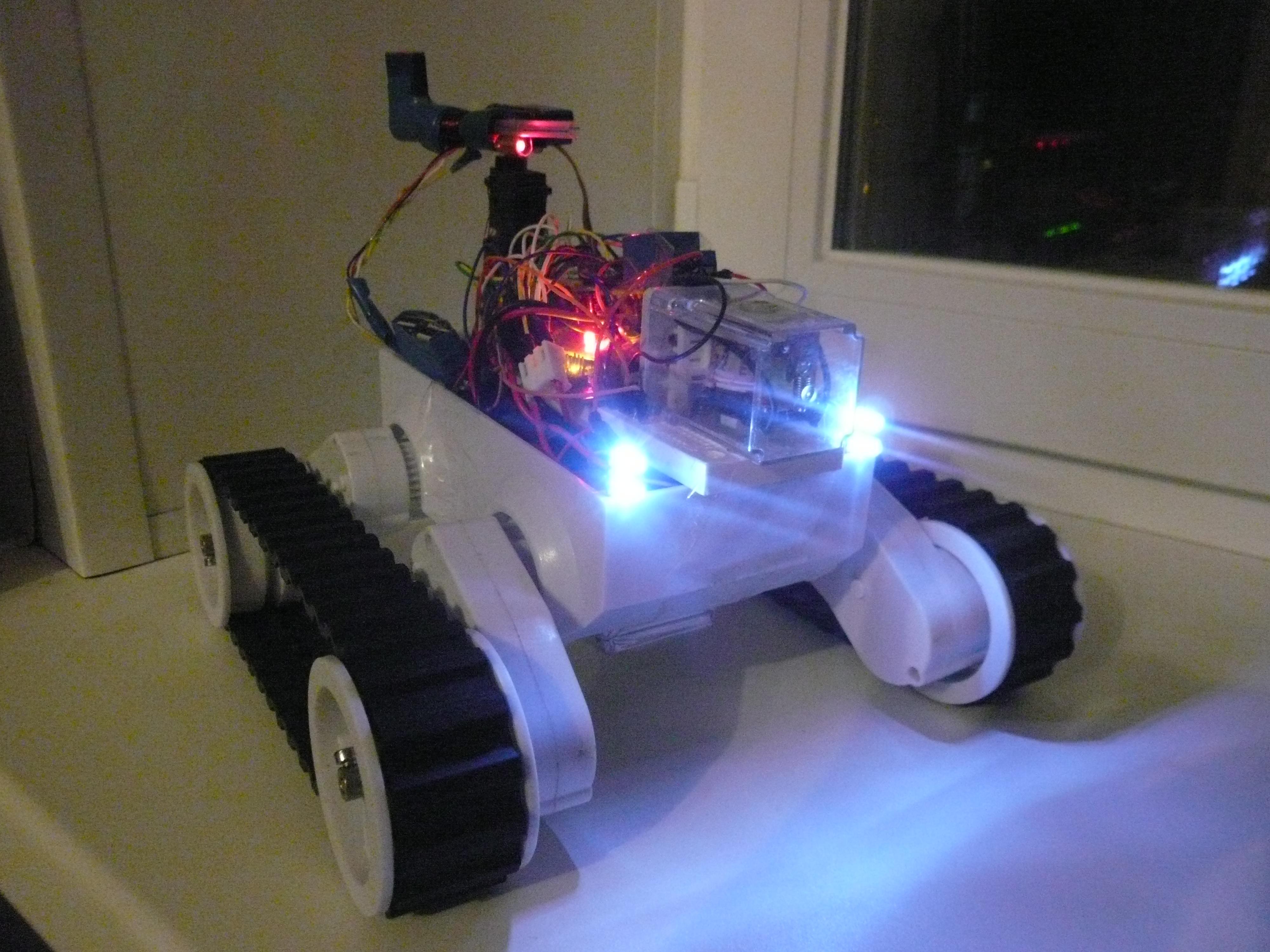 Arduino Robot with coil gun / gauss gun drone
