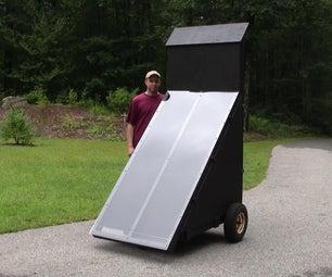 Building a Solar Food Dehydrator
