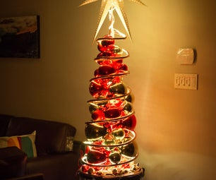 The Spiraling Christmas Tree