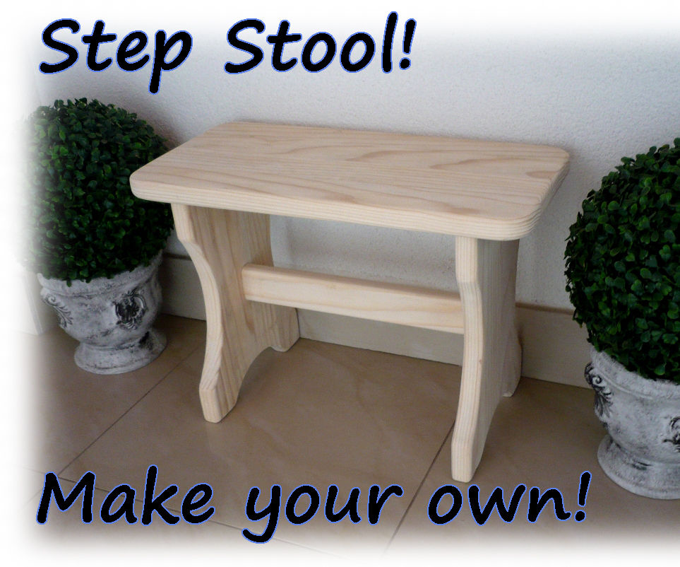 Make your own step stool!