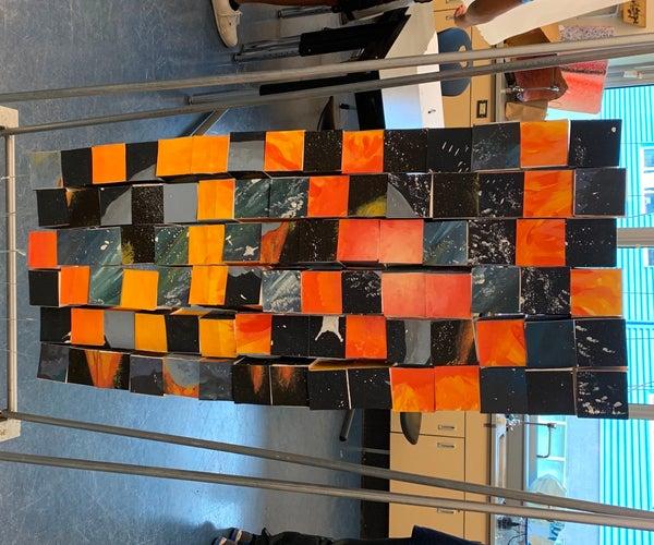 Cool Celestial Cubes: a 3d Puzzle