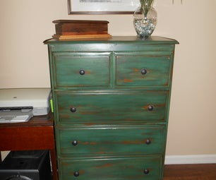 Painting a Dresser to Give It a Custom Look