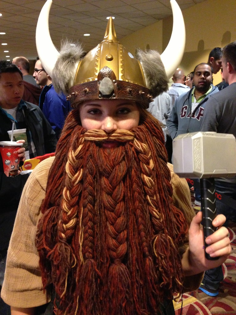 How to Grow Your Own Epic Dwarf Beard in One Evening!