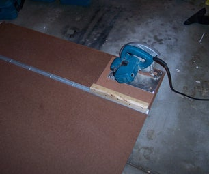 Tips and Jigs Part 1: Circular Saw Straight-Cutting Jig