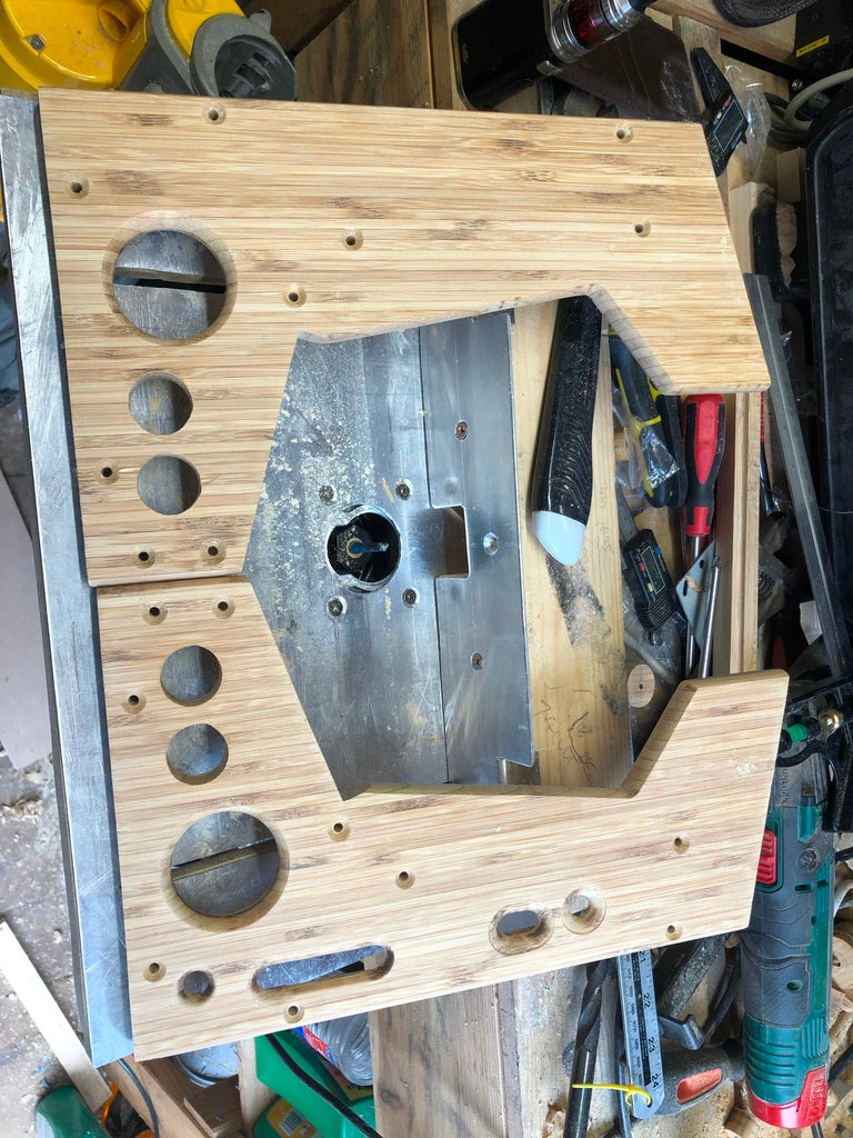 Add Holes for the Speakers and Side Buttons