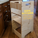Kid's Kitchen Helper Stand