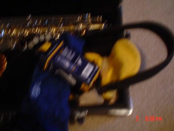 Altoids Sours Tin Saxophone Survival Kit