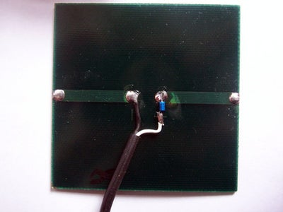 Solar Panel and Blocking Diode