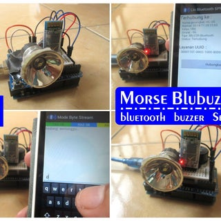 Morse Code With Arduino+LED