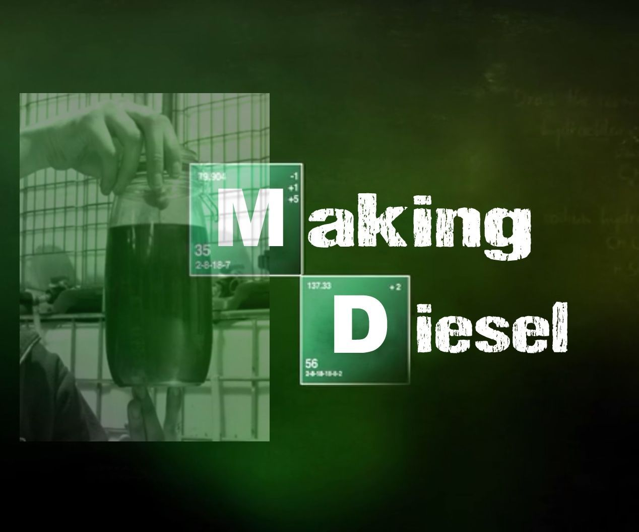 Making Biodiesel from Waste Vegetable Oil