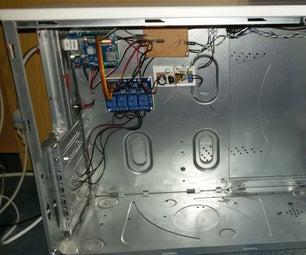 Home Automation V1 (Arduino, Raspberry Pi, ESP8266)
