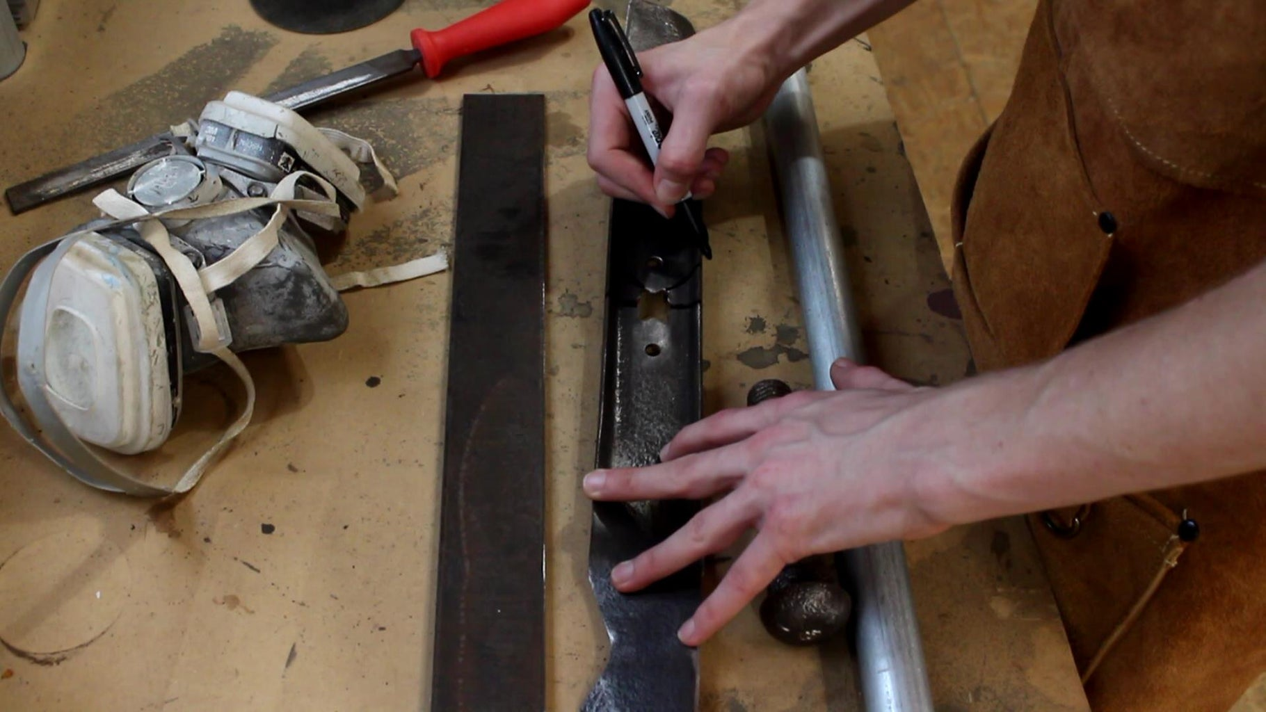 Cutting Out the Lawn Mower Blades