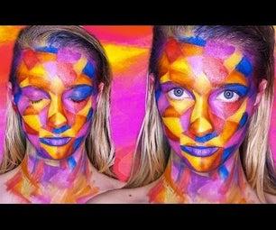 Picasso Cubism Makeup (video Tutorial)