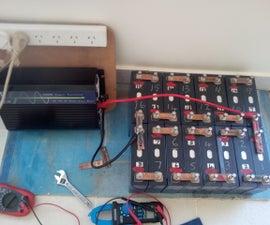 100 Ah 48 Volt LFP (LiFePo4) Battery Construction