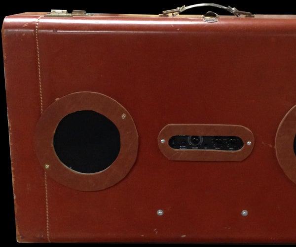 Vintage Suitcase Speaker