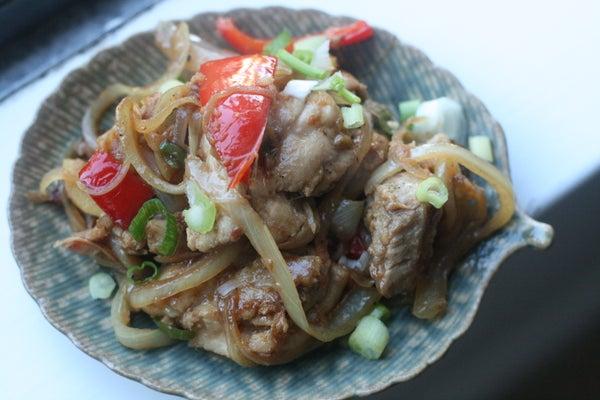 Ginger Chili Chicken Stir-Fry