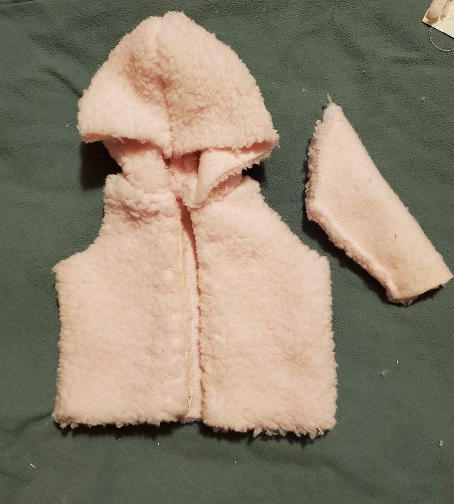 Sew One Sleeve, Hood and Add Zipper